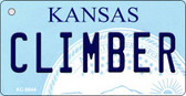 Climber Kansas State License Plate Novelty Wholesale Key Chain KC-6644