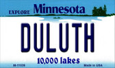 Duluth Minnesota State License Plate Novelty Wholesale Magnet M-11039
