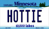 Hottie Minnesota State License Plate Novelty Wholesale Magnet M-11057