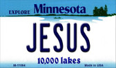 Jesus Minnesota State License Plate Novelty Wholesale Magnet M-11064