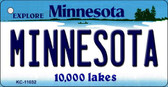 Minnesota State License Plate Novelty Wholesale Key Chain KC-11032
