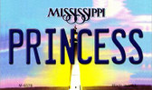 Princess Mississippi State License Plate Wholesale Magnet M-6579