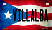 Villalba Puerto Rico State Flag License Plate Wholesale Motorcycle License Plate MP-11390