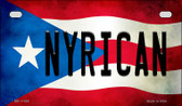 Nyrican Puerto Rico State Flag License Plate Wholesale Motorcycle License Plate MP-11394