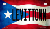 Levittown Puerto Rico State Flag License Plate Wholesale Motorcycle License Plate MP-11398