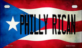 Philly Rican Puerto Rico State Flag License Plate Wholesale Motorcycle License Plate MP-11401