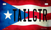 Tailgtr Puerto Rico State Flag License Plate Wholesale Motorcycle License Plate MP-11403