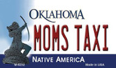 Moms Taxi Oklahoma State License Plate Novelty Wholesale Magnet M-6232