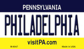 Philadelphia Pennsylvania State License Plate Wholesale Magnet M-6047