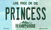 Princess New Hampshire State License Plate Wholesale Magnet M-11165