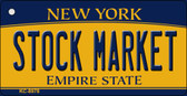 Stock Market New York State License Plate Wholesale Key Chain KC-8978