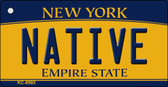 Native New York State License Plate Wholesale Key Chain KC-8993