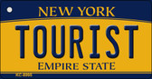 Tourist New York State License Plate Wholesale Key Chain KC-8995