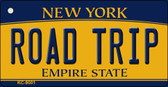Road Trip New York State License Plate Wholesale Key Chain KC-9001
