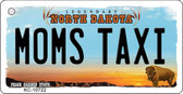 Moms Taxi North Dakota State License Plate Wholesale Key Chain KC-10722