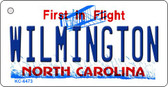 Wilmington North Carolina State License Plate Wholesale Key Chain KC-6473
