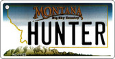 Hunter Montana State License Plate Novelty Wholesale Key Chain KC-11122