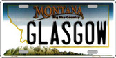 Glasgow Montana State Novelty Wholesale License Plate LP-11100