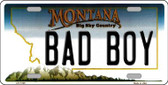 Bad Boy Montana State Novelty Wholesale License Plate LP-11125