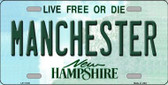 Manchester New Hampshire State Wholesale License Plate LP-11135
