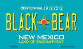 Black Bear New Mexico Novelty Wholesale Magnet