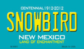Snowbird New Mexico Novelty Wholesale Magnet