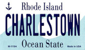 Charlestown Rhode Island State License Plate Novelty Wholesale Magnet M-11194