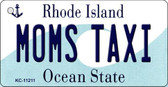 Moms Taxi Rhode Island License Plate Novelty Wholesale Key Chain KC-11211