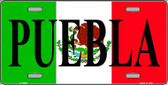Puebla Wholesale Metal Novelty License Plate LP-3436