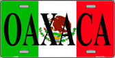 Oaxaca Wholesale Metal Novelty License Plate LP-3437