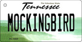Mockingbird Tennessee License Plate Wholesale Key Chain KC-6420
