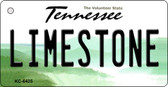 Limestone Tennessee License Plate Wholesale Key Chain KC-6425