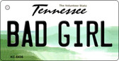 Bad Girl Tennessee License Plate Wholesale Key Chain KC-6436