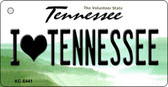 I Love Tennessee License Plate Wholesale Key Chain KC-6441