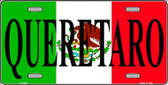 Queretaro Mexico Background Wholesale Metal Novelty License Plate LP-3445