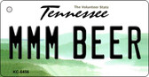 MMM Beer Tennessee License Plate Wholesale Key Chain KC-6456