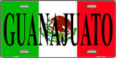 Guanajuato Mexico Wholesale Metal Novelty License Plate LP-3448