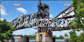 Arkansas Rusty Bridge Wholesale State License Plate LP-11586