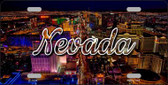 Nevada City Lights Wholesale State License Plate LP-11614