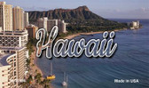 Hawaii Palm Trees Wholesale Magnet M-11594