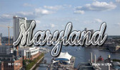 Maryland River Skyline Wholesale Magnet M-11605