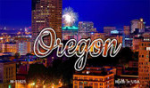 Oregon Firework City Lights Wholesale Magnet M-11625