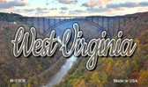 West Virginia River Bridge Wholesale Magnet M-11639