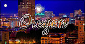 Oregon Firework City Lights Wholesale Key Chain KC-11625