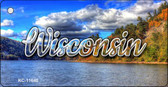 Wisconsin Colorful Lake Wholesale Key Chain KC-11640