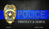 Protect and Serve Novelty Wholesale Magnet M-8538