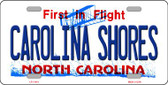 Carolina Shores North Carolina Novelty Wholesale License Plate LP-11414