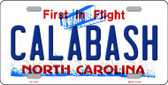 Calabash North Carolina Novelty Wholesale License Plate LP-11415