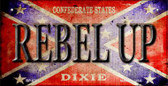 Rebel Up Novelty Wholesale Bicycle Plate BP-8233