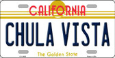 Chula Vista California Novelty Wholesale License Plate LP-11430